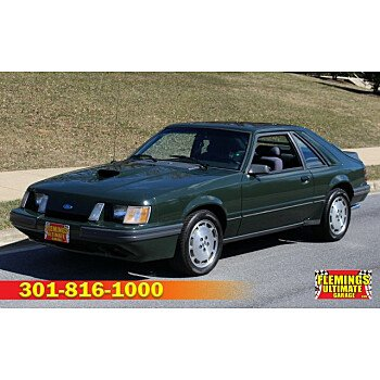 1985 Ford Mustang SVO Hatchback for sale 100905299
