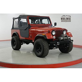 1985 Jeep CJ 7 for sale 101093126