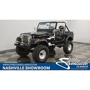 1985 Jeep CJ 7 for sale 101115252