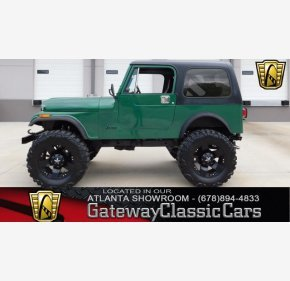 1985 Jeep CJ 7 for sale 100981564