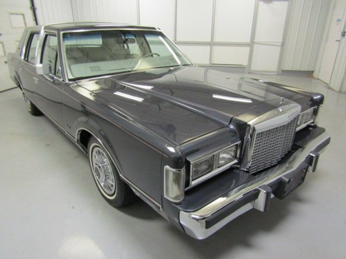 1985 Lincoln Town Car For Sale Near Christiansburg Virginia 24073