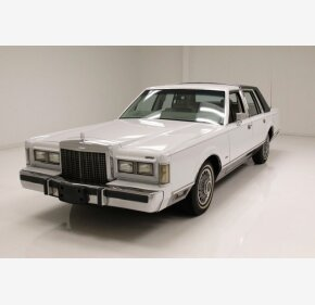 1985 Lincoln Town Car for sale 101347784