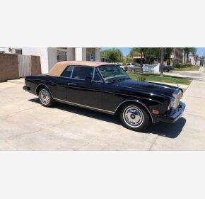 1985 Rolls-Royce Corniche for sale 101262243