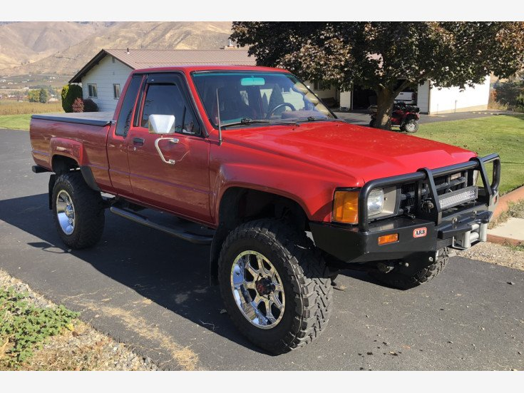 1985 toyota pickup 4x4 xtracab deluxe for sale near monitor