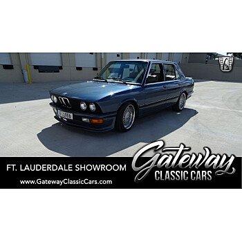 1986 BMW 535i Sedan for sale 101230681