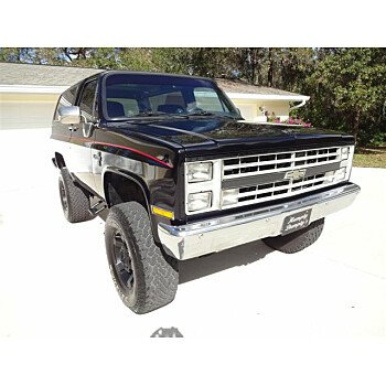 1986 Chevrolet Blazer 4WD 2-Door for sale 100945425