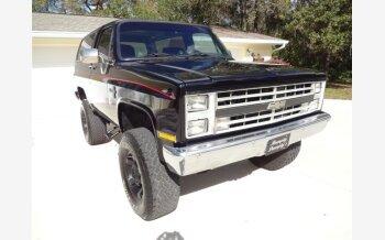 1986 Chevrolet Blazer 4WD 2-Door for sale 100945425