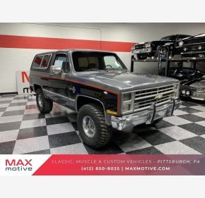 1986 Chevrolet Blazer 4WD for sale 101117405