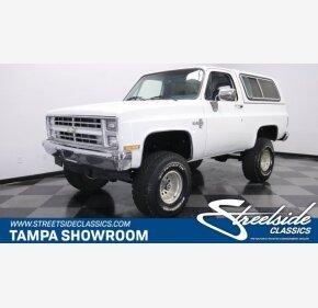 1986 Chevrolet Blazer for sale 101301924