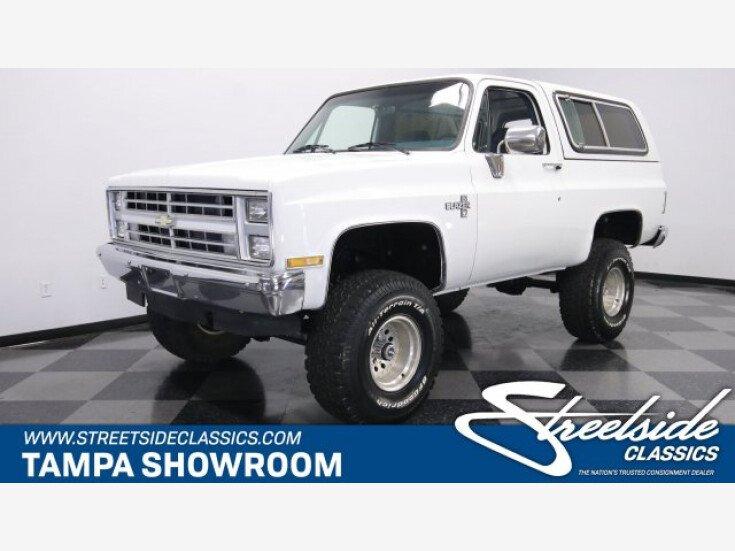 1986 Chevrolet Blazer For Sale Near Lutz Florida 33559 Classics