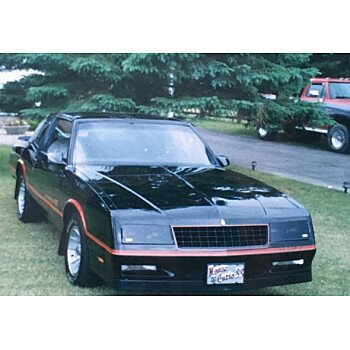 1986 Chevrolet Monte Carlo for sale 100951013
