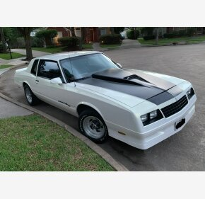 1986 Chevrolet Monte Carlo SS for sale 101207633