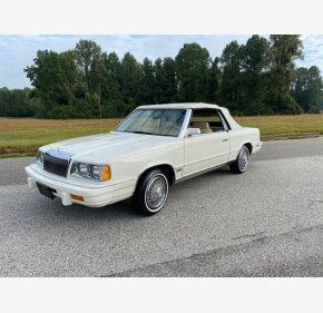 1986 Chrysler LeBaron for sale 101385730