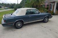 1986 Chrysler LeBaron Convertible for sale 101406916