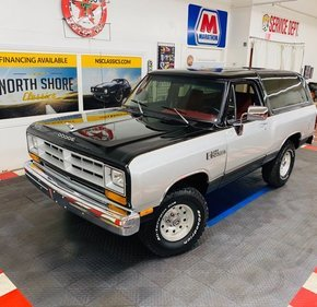 1986 Dodge Ramcharger for sale 101414711
