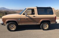 1986 Ford Bronco II 4WD for sale 101396619