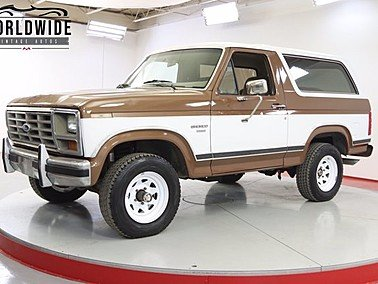 1986 Ford Bronco for sale 101487096