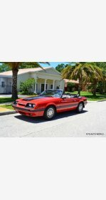 1986 Ford Mustang Convertible for sale 100990230