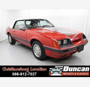 1986 Ford Mustang Convertible for sale 101148031