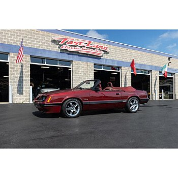 1986 Ford Mustang Convertible for sale 101358819