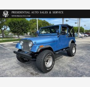 1986 Jeep CJ 7 for sale 101415029