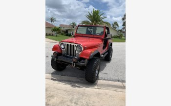 1986 Jeep CJ 7 for sale 101550768