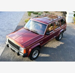 1986 Jeep Cherokee 4WD Laredo 4-Door for sale 101225421