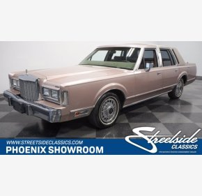 1986 Lincoln Town Car for sale 101394270