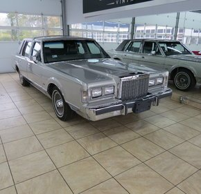 1986 Lincoln Town Car for sale 101396599