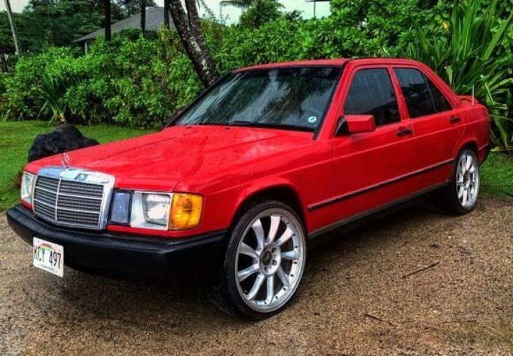 1986 Mercedes Benz 190e For Sale Near Woodland Hills California