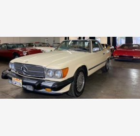 1986 Mercedes-Benz 560SL for sale 101070191