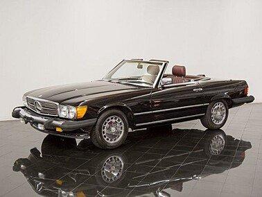 1986 Mercedes-Benz 560SL for sale 101210667