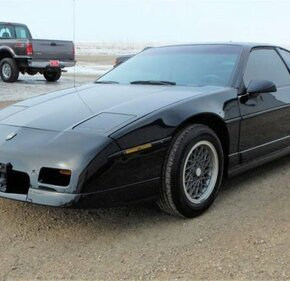 1986 Pontiac Fiero GT for sale 101107187
