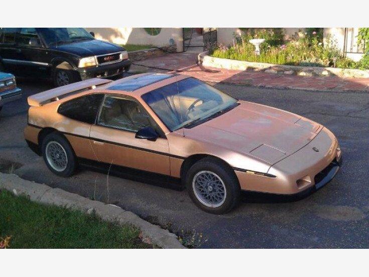 1986 Pontiac Fiero for sale 101393510