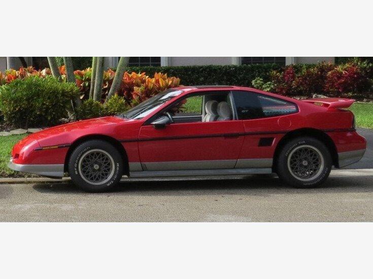 1986 Pontiac Fiero GT for sale 101508336