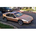 1986 Pontiac Fiero for sale 101587486