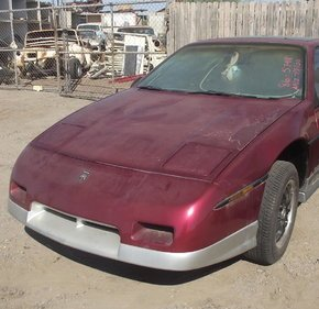 1986 Pontiac Fiero for sale 101394225
