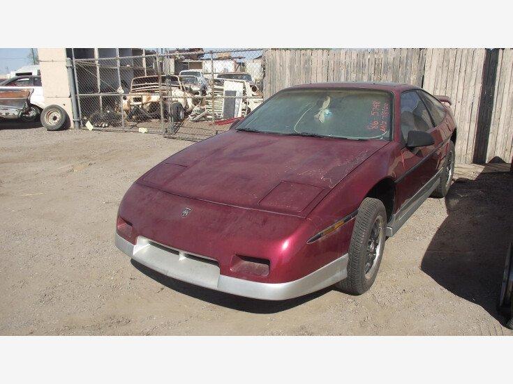 1986 Pontiac Fiero for sale 101394225