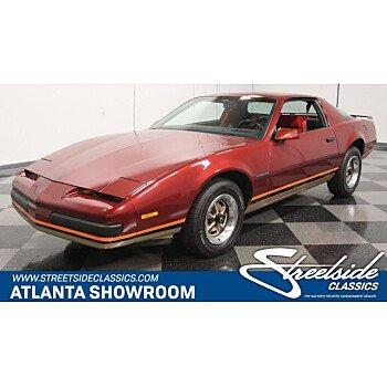 1986 Pontiac Firebird Coupe for sale 101259859