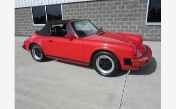 1986 Porsche 911 Carrera Cabriolet for sale 101223527