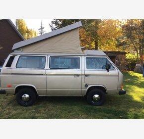 1986 Volkswagen Vanagon Camper for sale 101136425