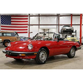 1987 Alfa Romeo Spider Graduate for sale 101277463