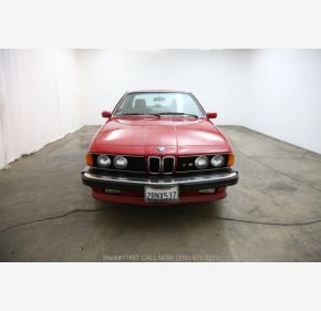 1987 BMW M6 Coupe for sale 101303034
