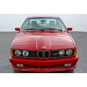 1987 BMW M6 for sale 101539087