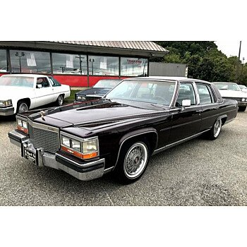 1987 Cadillac Fleetwood for sale 101036274