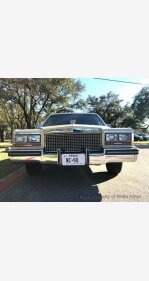 1987 Cadillac Fleetwood for sale 101095676