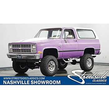 1987 Chevrolet Blazer for sale 101528893