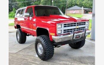 1987 Chevrolet Blazer 4WD for sale 101574836