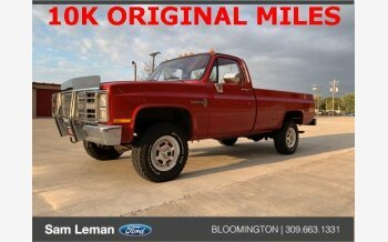 1987 Chevrolet C/K Truck 4x4 Regular Cab 3500 for sale 101221226