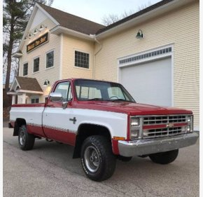 1987 Chevrolet C/K Truck Silverado for sale 101419011